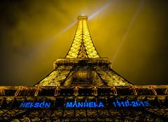 Le Eiffel Tower (Suburbanvoodoo) Tags: paris eiffeltower nelsonmandela