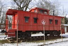 Vienna, West Virginia (Bob McGilvray Jr.) Tags: park wood railroad train wooden tracks caboose bo baltimoreohio viennawestvirginia