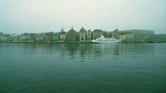 Gamla stan (takafumikuchida) Tags: autumn sea sky art fall film fog photo seaside nikon europe ship sweden stockholm norden photograph gamlastan nordic sverige scandinavia nikonf4 skandinavia