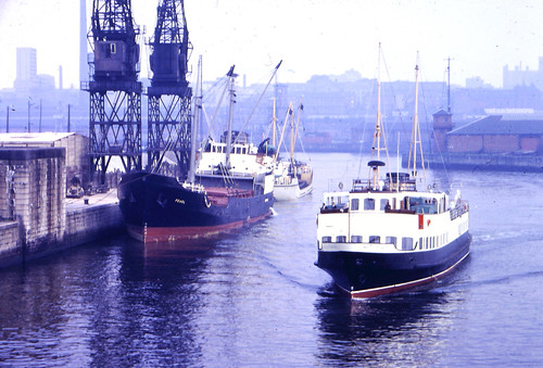 The River Clyde 1970s
