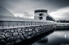 El museo Niemeyer (aldairuber) Tags: españa architecture arquitectura monumento asturias callejeando urbanphotography callejero asturies cascoantiguo callejear horaazul asturiasparaísonatural potd:country=es