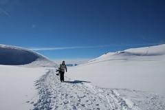 skihorspisteVersLesYvoses-Janvier2014