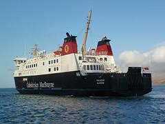 MV Finlaggan approaching Port Ascaig,  Isle of Islay,  Scotland (David May) Tags: ferry port inner islay jura sound outer isle calmac hebrides caledonian macbrayne ascaig