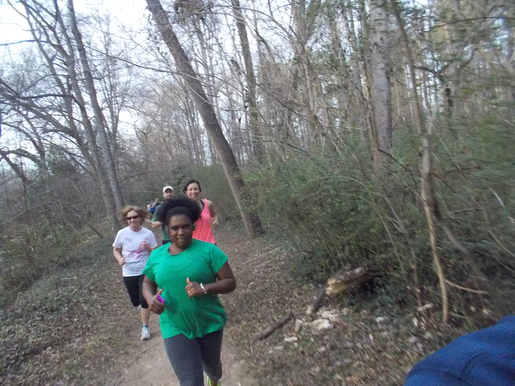 Second Tuesday Trail Run at Cottonwood Trail 3.11.14