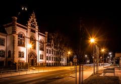 Bildungszentrum (Fellux) Tags: city light urban night nacht sachsen citylights stadt heimat nachtaufnahme laternen frankenberg mittelsachsen