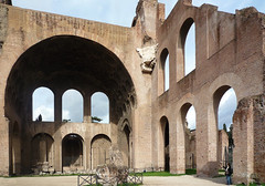 Basilica of Maxentius and Constantine, right end