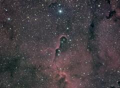 IC1396 - Elephant Trunk Nebula (matt_ccd) Tags: elephant derbyshire nebula trunk baader ic1396 fsq106ed neq6pro qhy9m