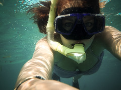 Snorkeling Selfie (Taylah Stiles) Tags: travel bali holiday beach nature river indonesia landscape photography natural olympus ubud legian