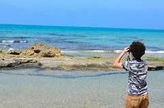 ShoshanaBeach_2333_140329 (Savyoney Eitan) Tags: sea fish bird beach egret littleegret