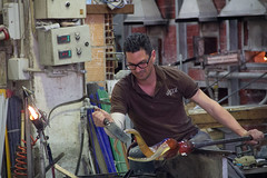 Murano (michael_hamburg69) Tags: italien italy man male art glass island artwork italia handmade craft insel murano handcraft glassblower muran glaskunst artisanry venetianlagoon
