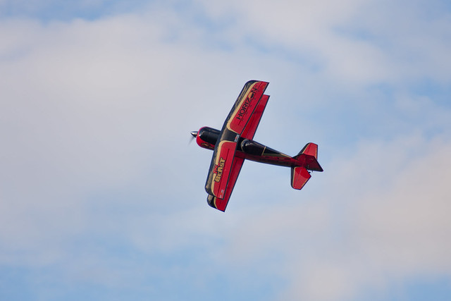 Phil flying his Hangar 9 Beast.