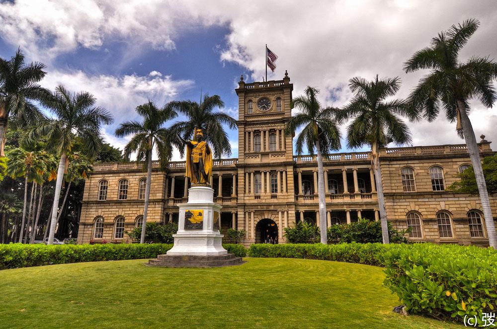 Дворец Иолани на Гаваях