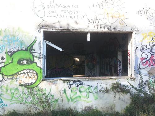Notre squat à Bacciano