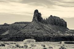 Desert Tower _3254 (hkoons) Tags: usa utah sandstone unitedstates desert dry canyon sage canyonlands wilderness desolate barren canyons arid hwy211
