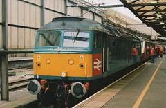 "Virgin Trains 'Celebrity' XP64 Class 47/8, D1733 / 47853 ""Rail Express"" (37190 ""Dalzell"") Tags: experimental spoon brush crewe britishrail duff vt virgintrains sulzer class47 type4 xp64 47614 railblue 47853 d1733 class478 47141 celebrityrepaint"