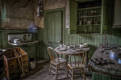 Bodie Kitchen HDR (alme 27) Tags: california usa pentax bodie hdr goldrush onone historicsite sigmalens k5d