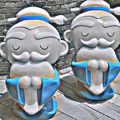 two confucius figures, Taipei #confucius #Taiwan #tapei #statues #confuciustemple jezevec (Badger 23 / jezevec) Tags: square roc taiwan squareformat formosa 台灣 kina 臺灣 2015 中華民國 republicofchina 섬 instaart 湾 republikken 福爾摩沙 tajwan تايوان tchajwan 타이완 тайвань đàiloan ταϊβάν iphoneography republikchina thòivàn טייוואן taivāna taívan தாய்வான் تەيۋەن instagram instagramapp uploaded:by=instagram instataiwan