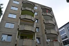 Leipzig 2015  Apartment building (Michiel2005) Tags: germany concrete deutschland flat saxony leipzig sachsen apartmentbuilding beton duitsland saxe saksen