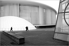 Philharmonie de Luxembourg, plateau du Kirchberg, Luxembourg (claude lina) Tags: claudelina canon luxembourg architecture kirchberg philharmonie philharmoniedeluxembourg christiandeportzamparc building immeuble
