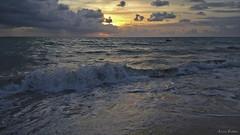 amanhecer (Lucia Cysneiros) Tags: amanhecer sunrise mar oceano praia beach onda brasil pernambuco praiademariafarinha