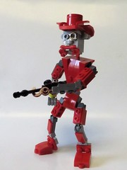 HTWWF! Politics.... (monsterbrick) Tags: lego moc cowboy red teddy
