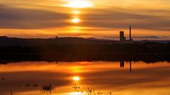 Céline ... (Amanclos) Tags: céline lafarge sunset sunrise sun sunrisesunset colors goldenhour reflet reflexion longexposure le longuepose portlanouvelle france canon canoneos5dmarkiii canonef2410514lisusm