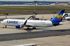 D-ABUD 767-330(ER) Condor (Antonio Doblado) Tags: frankfurt doblepasillo twinaisle dabud boeing b767 767 condor