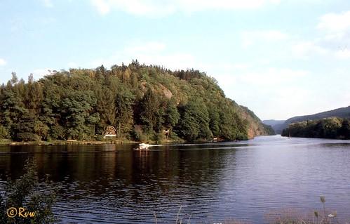 Davle -- Confluence of the Vltava & Sázava rivers / CZ