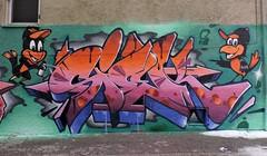 Baltimore Orioles wall w/ Daver 22nd St Baltimore (SIEKONE.ID) Tags: siek graffiti flyid baltimore orioles wall art pa crew pfe gak kts graffitiart siekflyid daver paradise paradiseart