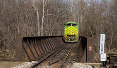 NS 1072 Petersburg IN 04 Feb 2017 02 (Train Chaser) Tags: ns norfolksouthern ns1072 indianasouthern isrr
