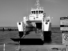 Scotland Largs undergoing sea trials new electric car ferry Catriona 16 August 2016 by Anne MacKay (Anne MacKay images of interest & wonder) Tags: scotland largs sea trials caledonian macbrayne electric car ferry catriona xs1 monochrome blackandwhite 16 august 2016 picture by anne mackay