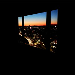 Room with a view #sunset #Boston #Citgo #Fenway (BradKellyPhoto) Tags: sunset boston citgo fenway sheraton