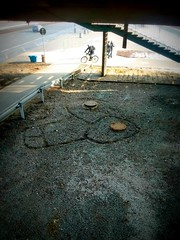 Chuj (fagion) Tags: chuj prick saska street warsaw dick