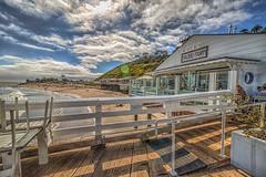 Malibu Farm restaurant on the Fishing Pier (Michael F. Nyiri) Tags: malibu california southerncalifornia beach pacificocean ocean rockyshore rock malibufishingpier pier wharf