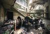 Broken turbine (Michal Seidl) Tags: abandoned hydro power plant opuštěná vodní elektrárna ydro eletrrica abbandonato urbex hdr italy industry