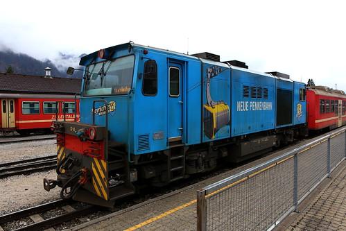 Zillertalbahn D14 Neue Penkenbahn, Jenbach