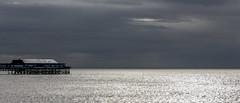The sea of glitter (wilkinsong) Tags: blackpool pier sea