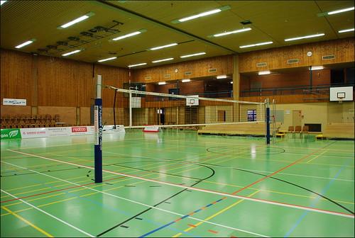 Pabellón deportivo (Aesch, 25-11-2015)