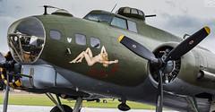Boeing B-17G Flying Fortress (RichardxS) Tags: 2016 b17 boeingb17gflyingfortress cambridgeshire duxfordairfield eastanglia england flyingfortress iwm imperialwarmuseum september summer uk unitedkingdom duxford gb