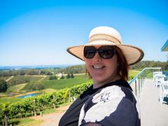 amanda at the pike & joyce winery