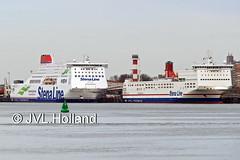 Stena Hollandica + Stena Transit  170310-114-C6 ©JVL.Holland (JVL.Holland John & Vera) Tags: stenahollandica stenatransit europort waterweg hoekvanholland scheepvaart shipping netherlands nederland europe canon jvlholland