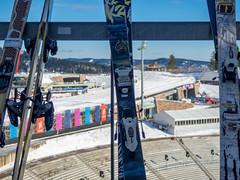 Ski Festival OSlo (María Arencibia) Tags: oslo norway scandinavia nature winter snow sky trees tree ski skiing fjord festival