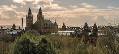 Kelvingrove Art Gallery and Museum (Brian Travelling) Tags: kelvingroveartgalleryandmuseum kelvingroveartgallery kelvingrove art gallery museum glasgow westend sky cloud lightroom photoshop photography photograph university glasgowuniversity scotland panoramic view city cityscape clouds skyline