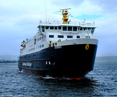 Scotland Greenock coming into the ship repair dock large car ferry Hebrides 13 March 2017 by Anne MacKay (Anne MacKay images of interest & wonder) Tags: scotland greenock caledonian macbrayne car ferry hebrides xs1 13 march 2017 picture by anne mackay