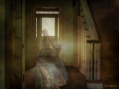 A Ghostly Departure (jade2k) Tags: ghost haunted digitalart house