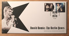 David Bowie - The Berlin Years - FDC (Darren...) Tags: david bowie stamps fdc berlin 2017