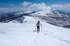 Mt. Mekunnai-dake ski touring (Hokkaido, Japan) (Robert Thomson) Tags: nisekoregion niseko skitouring mekunnai bouldersatsummit icysummit nisekorange skitour backcountryskiing routeguide gpsfiles photos routemap 14degrees selfguided onsen niimionsen