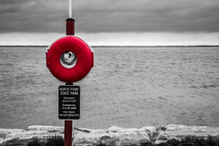 Safety First (G.D. Jewell II) Tags: lifesaver lifepreserver art america april 2017 beauty baltimore beautiful selectivecolor color davejewell davidjewell d3400 digital gdjewellii georgejewell gdjewell2nd httpswwwfacebookcomdavejewell1291 interesting image jewell kitlens light landscape maryland nikon nikkor nikond3400 northpointstatepark outdoors outside ocean outdoor photo photography photograph photos aqua aquatic red rocks rock river sexy scionofhelios state sky sea usa view vision water flickr geotagged overcast rain rainy rainyday storm stormclouds bay sign afpnikkor1855mm13556g cmwdred