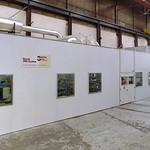 Geluidomkasting inclusief luchttoevoer en -afvoer met geluiddempers