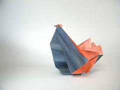 Rooster - Leyla Torres (Rui.Roda) Tags: origami papiroflexia papierfalten coq galo gallo rooster leyla torres
